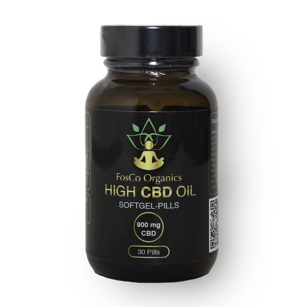 Softgel CBD Pills Front
